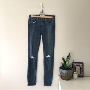 "PAIGE | Verdugo Ultra Skinny ripped jean, 27"""
